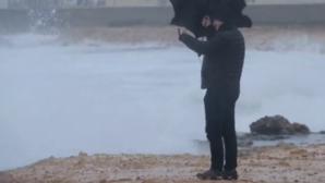 Româncă moartă de frig, în Spania! Cod ROȘU de vânt puternic
