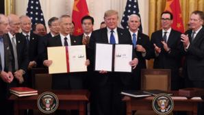 Acord comerical semnat de SUA și China