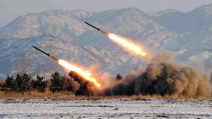 O baza cu soldati americani din Irak a fost lovita cu rachete