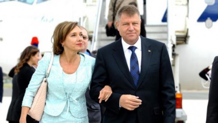 Klaus Iohannis şi soţia sa, vizită istorică la Ierusalim