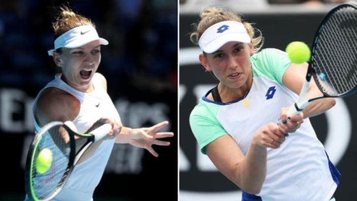 S-a decis ora la care joacă Halep cu Mertens în optimile Australian Open