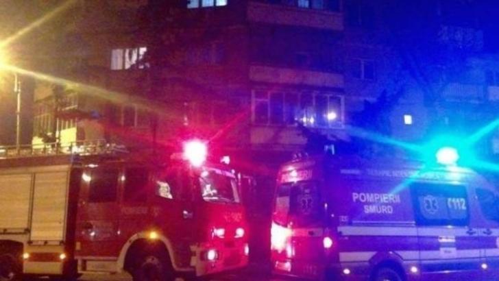 Incendiu în județul Argeș. O femeie a suferit un atac de panică