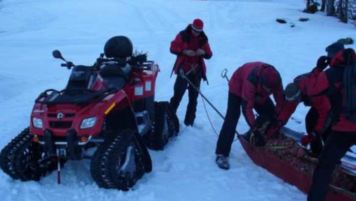 Turist din Mureș, bătut și călcat cu ATV-ul de un angajat al pârtiei de schi din Toplița