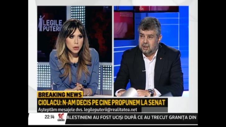 """Marcel Ciolacu, despre șefia Senatului: """"Nu vom merge tot cu domnul Meleșcanu"""""""