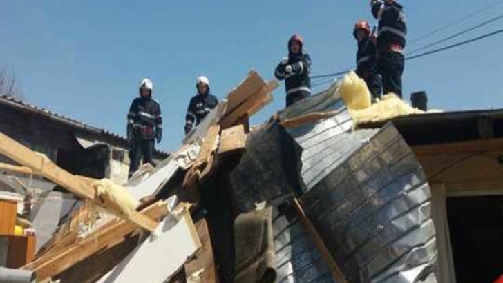 Explozie în județul Alba. Un bărbat a murit pe loc