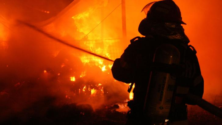 Incendiu violent la Timișoara. Casa fostei iubite a lui Nicolae Guţă s-a făcut scrum