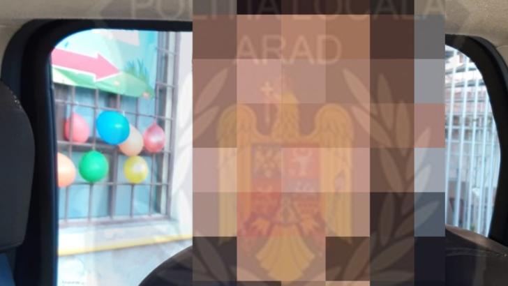 Scandal in centrul Aradului: un barbat a incercat sa urce pe un tramvai. Motivul