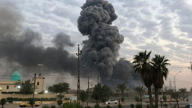 Nou atac la Bagdad! Doua rachete au lovit zona verde