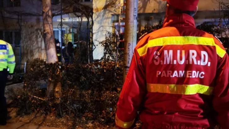 Video // Incendiu puternic la un apartament din Pitești!