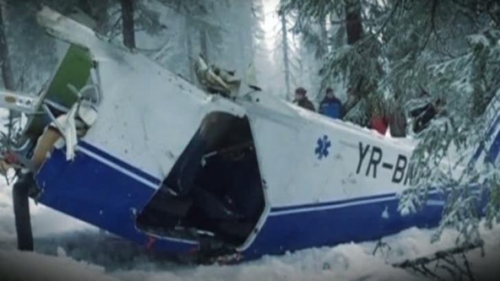 Șase ani de la tragicul accident aviatic din Apuseni. Au murit Aura Ion si Adrian Iovan