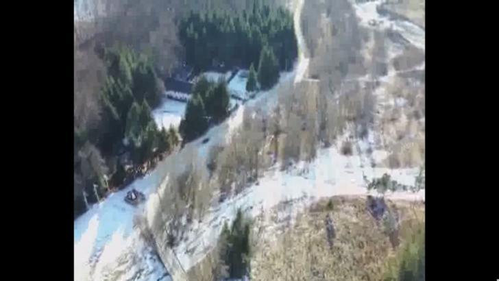 Iată cum putem scăpa de aglomerația de pe DN 1! Imagini spectaculoase din dronă