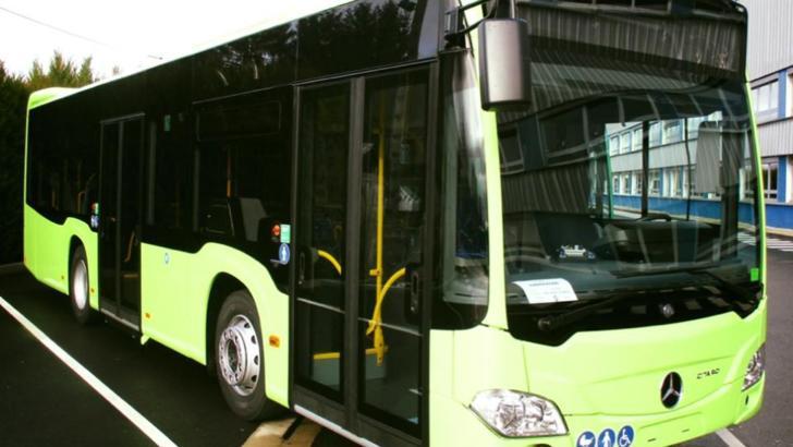 Gabriela Firea prezintă noua achiziție: autobuze hibrid pentru STB