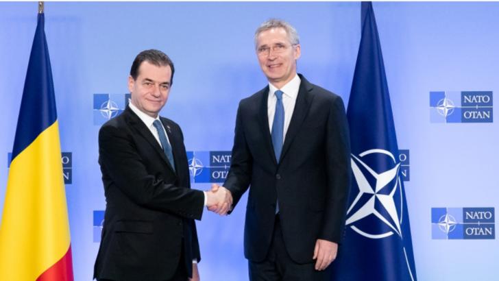 Premierul Orban, dupa intalnirea cu seful NATO: Daca e nevoie de o implicare mai intensa in Orientul Mijlociu...