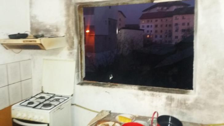 Explozie intr-un bloc din Dambovita: o victima