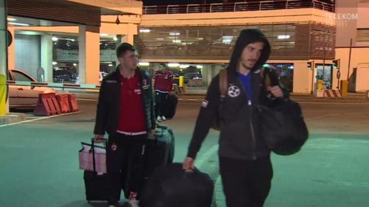 Rivalitate la înălțime! FCSB şi Dinamo s-au întors cu acelaşi avion din Spania