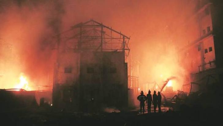 Explozie la o fabrica de produse chimice: cel putin 6 morti