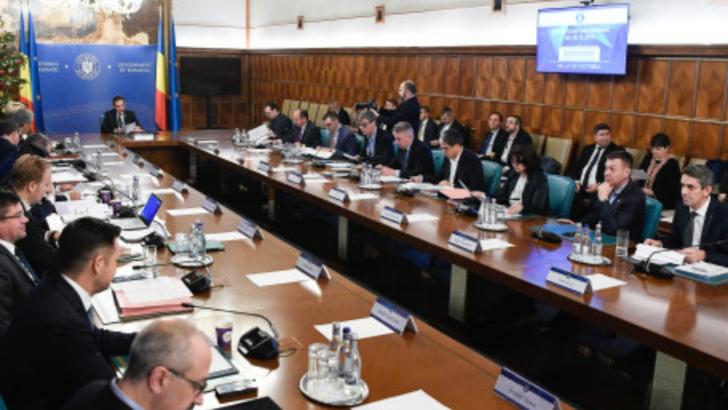 Ședinta de Guvern joi: Ce proiecte are pe masa Ludovic Orban