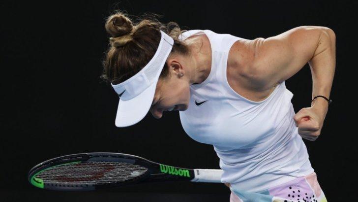 Halep s-a calificat în optimile de la Australian Open