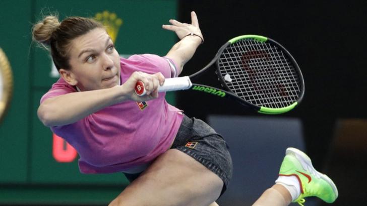 FOTO | Simona Halep, antrenament special înainte de debutul la Australian Open