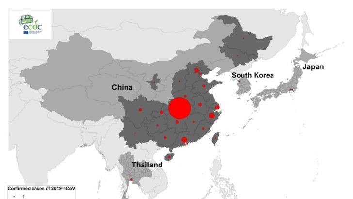 VIRUSUL din China. BILANȚ: cel putin 18 decese. SITUAȚIA pe tari a cazurilor raportate