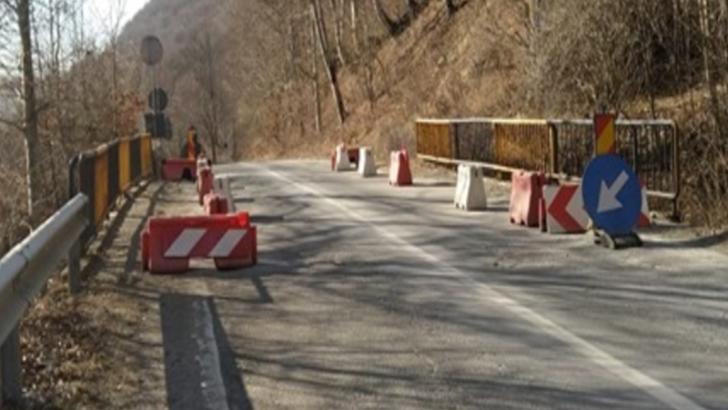 Probleme, din nou, pe DN 71, în Dâmbovița. Restricții de circulație la km 92