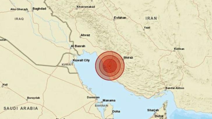 Cate victime a facut cutremurul de azi din IRAN