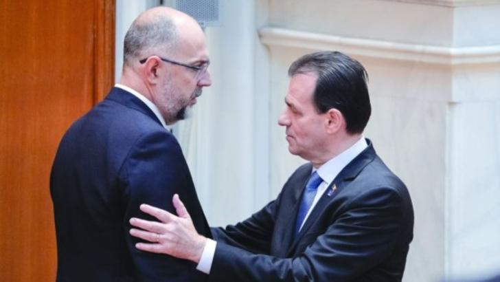 Kelemen Hunor și Ludovic Orban