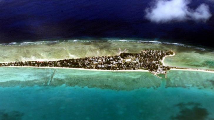 Kiribati va dispărea în Oceanul Pacific până în 2050