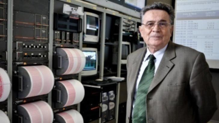 Gheorghe Mărmureanu, directorul onorific al Institutului National pentru Fizica Pamantului (INFP)