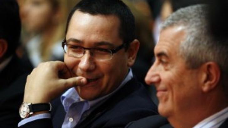Victor Ponta și Călin Popescu-Tăriceanu, aliați cu PMP