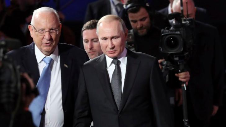 Vladimir Putin, la ceremoniile de la Ierusalim de comemorare a victimelor Holocaustului