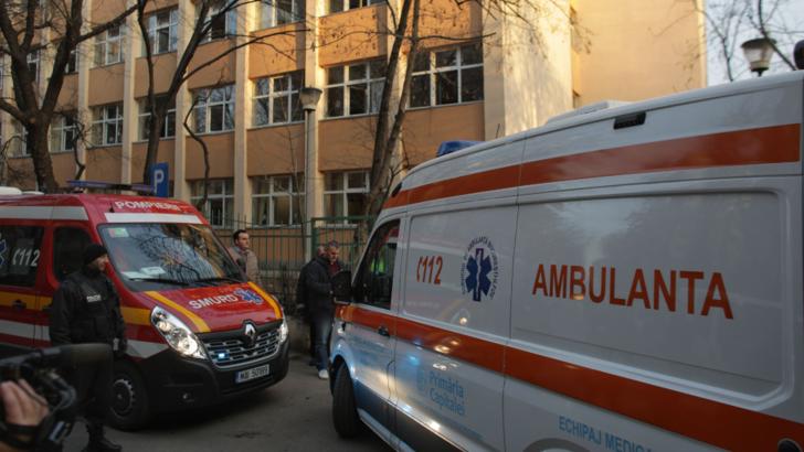 Cei sapte elevi de la Scoala 133, internati la -Grigore Alexandruescu-, sunt in stare buna