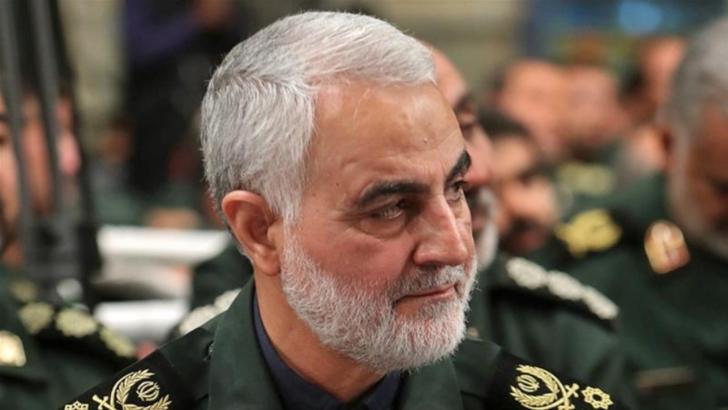 Generalul iranian Qassem Soleimani, ucis pe 3 ianuarie 2020