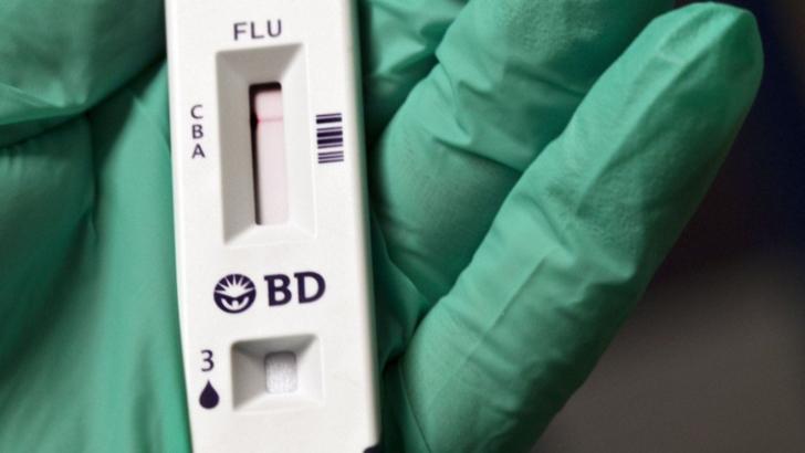 Teste rapide în România pentru noul virus gripal din China
