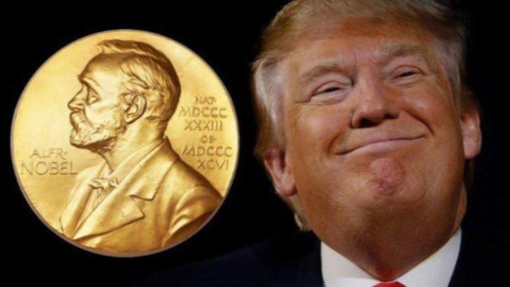 Donald Trump, nominalizat la Premiul Nobel pentru Pace
