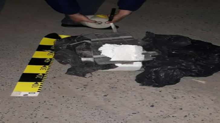 Colet suspect la Tulcea: Geniştii au găsit două bucăţi de polistiren