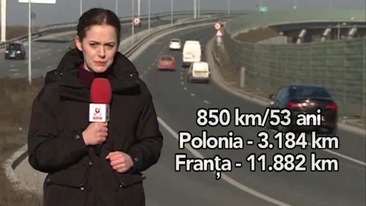 Cati kilometri de autostrada am putea avea in 2020