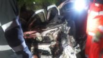 Accident grav, în jud. Olt: 4 morți, după un impact nimicitor cu un TIR