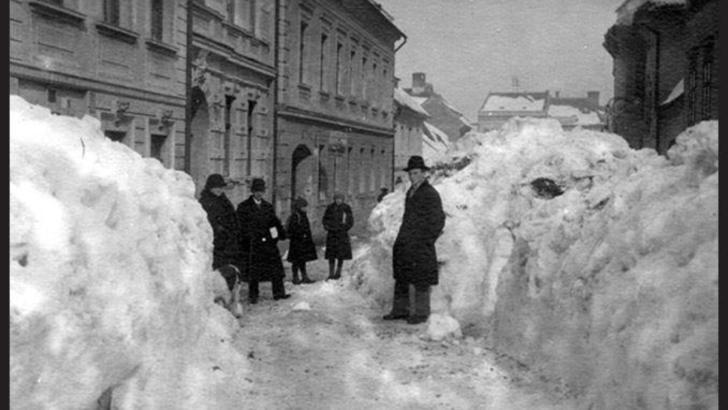 Zăpadă Brașov 1942