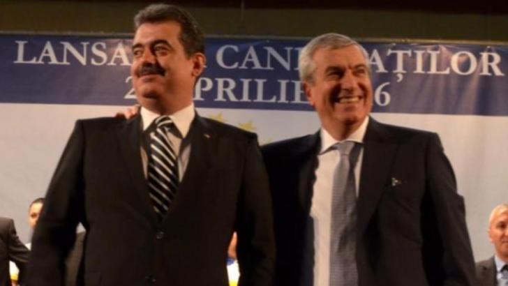 Andrei Gerea și Călin Popescu-Tăriceanu