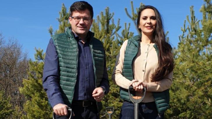 Campanie gigant de împădurire. Ministrul Mediului, Costel Alexe: Anul acesta, vom ridica 2.500 de păduri de la zero