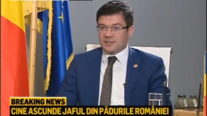 Costel Alexe, ministrul Mediului, la Realitatea PLUS