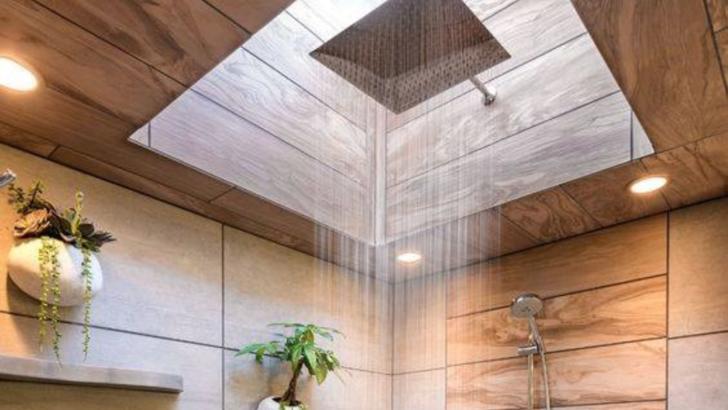 A comandat o cabină de duș deosebită, dar a primit în schimb ceva de-a dreptul genial