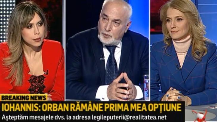 "Varujan Vosganian, la Realitatea PLUS: ""Eu, personal, l-aș vota pe Ciucă premier!"""