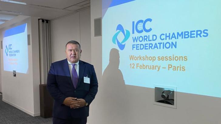 Președintele CCIR, Mihai Daraban, la sesiunile de lucru ale Consiliului General al Federației Mondiale a Camerelor de Comerț