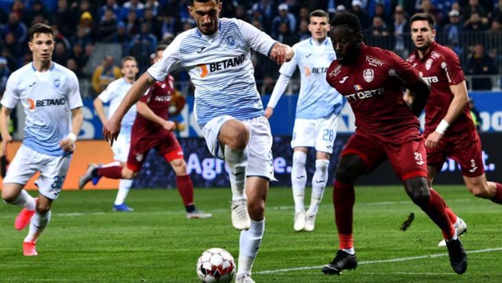 CFR Cluj, fără gol primit în Liga 1 în 2020! Campioana României câștigă la Craiova, după un meci tensionat