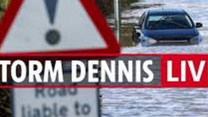 Furtuna Dennis a făcut prăpăd! Sute de curse aeriene anulate, în Marea Britanie, din cauza uraganului