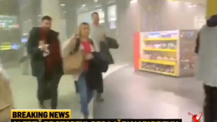 VIDEO Incendiu la aeroportul Otopeni - Sute de persoane evacuate. Autoritățile nepregătite