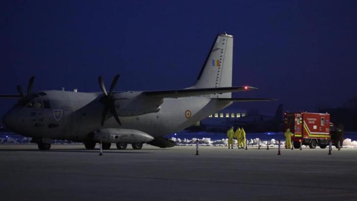 CORONAVIRUS. Doi români veniţi din China, în carantină. Aduşi în ţară cu un avion al Armatei