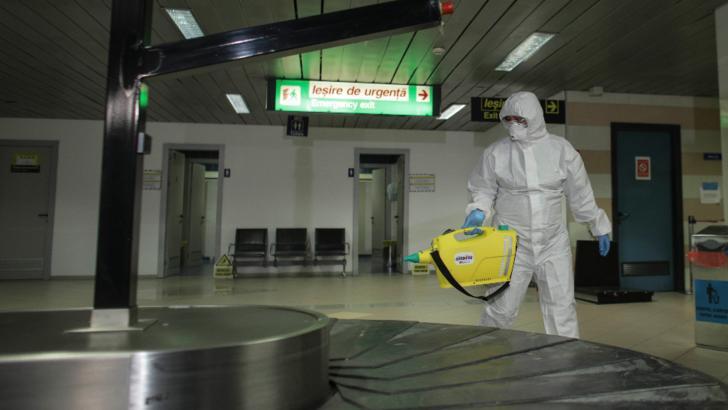 Romania, verificari de mantuiala pentru coronavirus. Aeroporturile din tara, in alerta